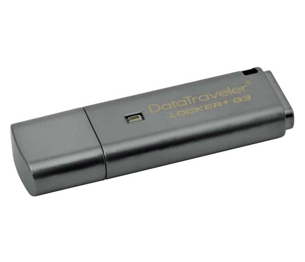 Kingston 64GB DataTraveler Locker+ G3 (USB 3.0) 135MB/s - 169317 - zdjęcie
