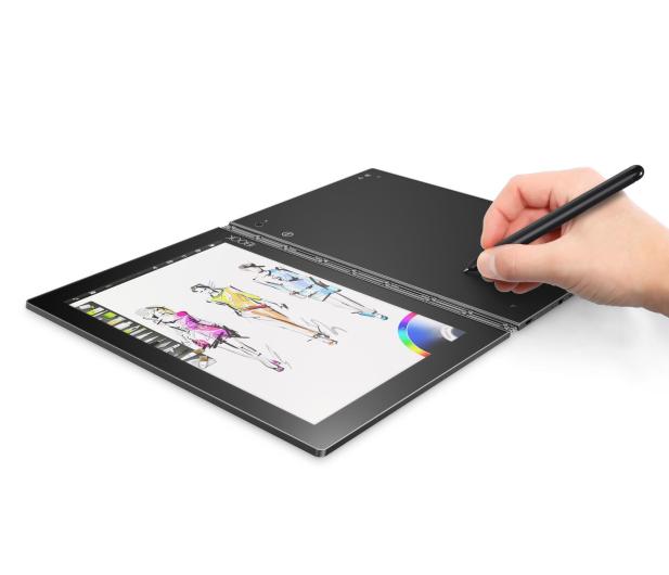 Lenovo YOGA Book x5-Z8550/4GB/64GB/Win10Pro LTE Czarny - 386093 - zdjęcie 8
