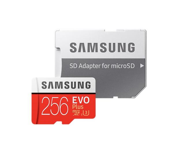 Samsung 256GB microSDXC Evo Plus zapis 90MB/s odcz 100MB/s - 360786 - zdjęcie 3