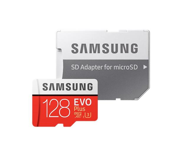 Samsung 128GB microSDXC Evo Plus zapis 90MB/s odcz 100MB/s - 360785 - zdjęcie 3
