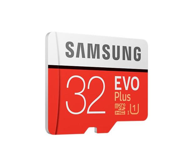Samsung 32GB microSDHC Evo Plus zapis20MB/s odczyt95MB/s  - 360783 - zdjęcie 2