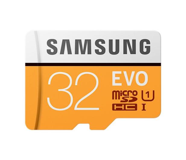 Samsung 32GB microSDHC Evo zapis 20MB/s odczyt 95MB/s  - 360771 - zdjęcie