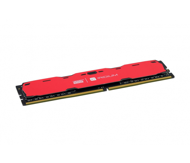 GOODRAM 8GB 2400MHz IRIDIUM Red CL15 - 361609 - zdjęcie 2