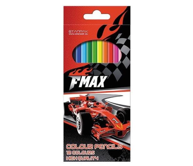 Starpak Kredki ołówkowe 12 kol. FMAX - 359559 - zdjęcie
