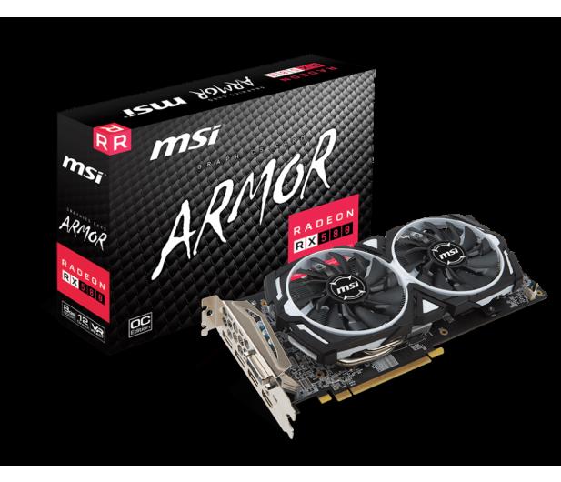 MSI Radeon RX 580 ARMOR OC 8GB GDDR5 - 362223 - zdjęcie