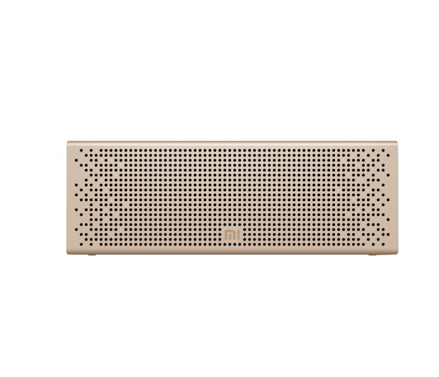 Xiaomi Mi Bluetooth Speaker (złoty) - 362882 - zdjęcie