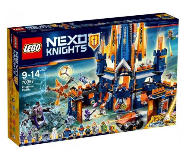 LEGO Nexo Knights Zamek Knighton - 362903 - zdjęcie