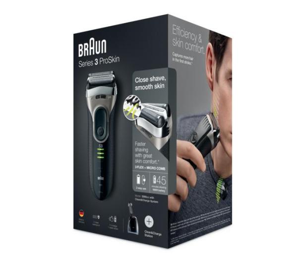 Braun Series 3 ProSkin 3090cc Clean&Charge - 260248 - zdjęcie 6