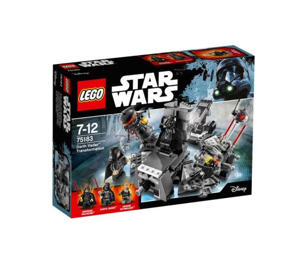 LEGO Star Wars Transformacja Dartha Vadera - 363075 - zdjęcie