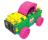 CLICS Wiaderko 8 w 1 - Glitter - 404962 - zdjęcie 10