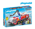 PLAYMOBIL Pojazd Strażacki na lotnisku ze światłem (5337)