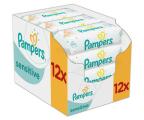 Pampers Chusteczki Nawilżane Sensitive 12x 56szt (4015400622284)