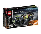 LEGO Technic Żółta wyścigówka (42072)