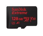 SanDisk 128GB microSDXC Extreme 100MB/s A1 C10 V30 UHS-I (SDSQXAF-128G-GN6MA)