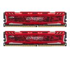 Crucial 16GB 3000MHz Ballistix Sport LT RED CL15 (2x8GB) (BLS2K8G4D30AESEK)