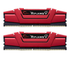G.SKILL 16GB 3000MHz RipjawsV Red CL16 (2x8GB) (F4-3000C16D-16GVRB)