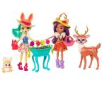 Mattel Enchantimals Dwupak Lalki ze Zwierzątkami (FDG01)