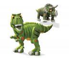 Dumel Discovery Creative Bloco T-Rex & Triceratops 35002 (DD 35002)