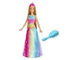 Barbie Magiczne Włosy Księżniczki Światła Dźwięki (FRB12)