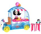 Mattel Enchantimals Mobilna Budka z lodami z lalką (FKY58)