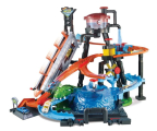 Hot Wheels City Mega Myjnia Atak Krokodyla (FTB67)
