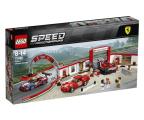 Klocki LEGO® LEGO Speed Champions Rewelacyjny warsztat Ferrari