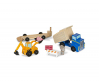 Melissa & Doug Pojazdy budowlane drewniane maszyny (12757)
