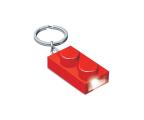 POLTOP LEGO Brelok klocek czerwony LED (LGL-KE52R)