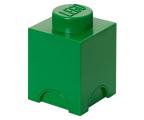 POLTOP LEGO Pojemnik 1 kwadratowy - zielony (40011734)