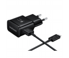 Samsung Ładowarka Sieciowa Rapid Charger USB-C 2A czarny (EP-TA20EBECGWW)
