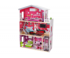 ECOTOYS Domek dla lalek Rezydencja Malibu z windą (4118)