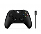 Microsoft Pad XBOX One Wireless Controller + kabel PC (4N6-00002 )