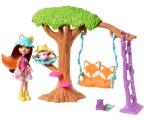 Mattel Enchantimals Huśtawka z laką Felicity Fox (FRH44 FRH45)