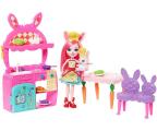 Mattel Enchantimals Wonderwood Kuchnia z lalką Bree Bunny (FRH44 FRH47)