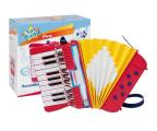 Bontempi Akordeon 17 klawiszy, 6 przycisków basowych (041-331780)