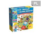 Lisciani Giochi Mały Geniusz Quiz Dinozaury (304-P54374)