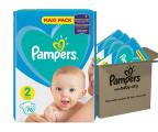 Pampers New Baby 2 Mini 4-8kg 228szt Zapas Na Miesiąc (8001841219257)