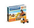 CLICS CLICFORMERS Maszyny budowlane 4w1 30el. 804001 (ZB-105327)