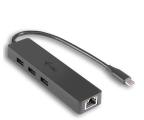 i-tec Hub USB-C - 3x USB 3.0, RJ-45 (Gigabit Ethernet) (C31GL3SLIM)