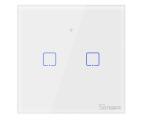 Sonoff Dotykowy Włącznik T1 EU TX (WiFi+RF433 2-kanałowy) (IM190314013)