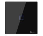 Sonoff Dotykowy Włącznik T3 EU TX (WiFi+RF433 1-kanałowy) (IM190314018 (czarny))