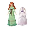 Hasbro Frozen 2 Stylowa lalka Anna +  ubranka (E5500 E6908)
