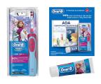 Szczoteczka elektryczna Oral-B D12 Kids Frozen + Pasta + Książka