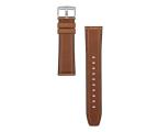 Huawei Pasek Skórzany do Huawei Watch GT 46mm ciemny brąz (02232UDD / 6901443268559)
