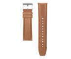Huawei Pasek Skórzany do Huawei Watch GT 46mm jasny brąz (55031983 / 6901443346189)