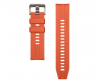 Huawei Pasek Silikonowy do Huawei Watch GT 46mm Orange (55031982 / 6901443346172)