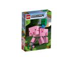 LEGO Minecraft BigFig - Świnka i mały zombie (21157)