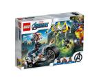 LEGO Super Heroes Avengers Walka na motocyklu (76142)