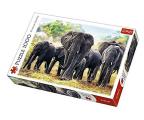 Trefl 1000 el Afrykańskie słonie  (10442)