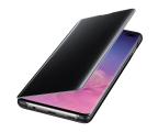 Samsung Clear View Cover do Galaxy S10+ czarny (EF-ZG975CBEGWW)